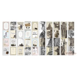 "Набор полос с картинками для декорирования ""Shabby Memory"" 5 шт, 5х30,5 см"