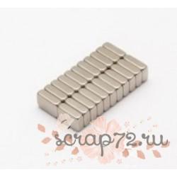 Неодимовый магнит 10х4х1 мм