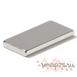 Неодимовый магнит 15х8х1 мм