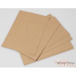 Крафт-бумага 90гр/м2 коричневая, формат 30*30 см