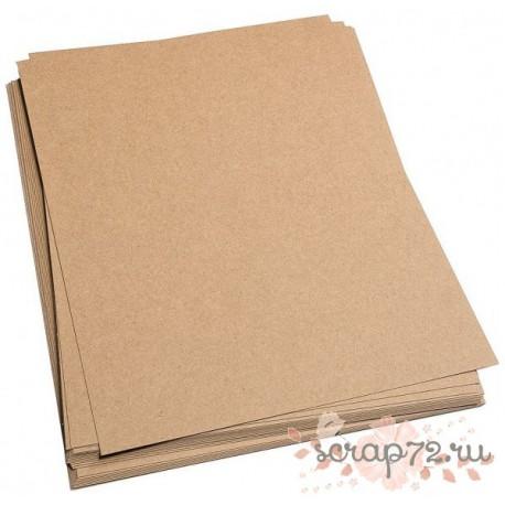 Крафт-бумага 90гр/м2 коричневая, формат А4