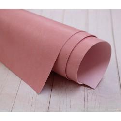 Переплетный кожзам (экокожа) матовый, цвет нежно-розовый (Италия) 33*35см