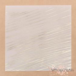Калька для скрапбукинга с фольгированием «Экспрессия», 20х20 см