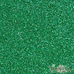 Фоамиран глиттерный 2 мм, темно-зеленый, 21х29см