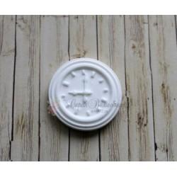 "Пластиковая фигура""Часы"", d 32мм"