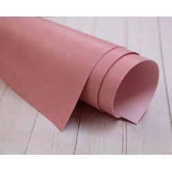 Переплетный кожзам (экокожа) матовый, цвет розовый (Италия) 35*25см