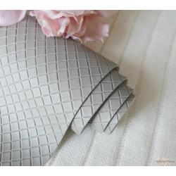 Кожзам на тканевой основе 35х35 см, серый