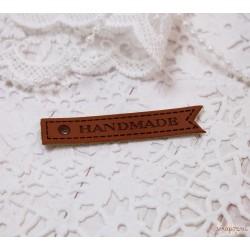 Шильдик «Hand made», 55×10 мм