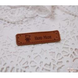 Шильдик «Hand made», 50×15 мм
