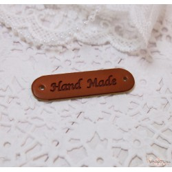 Шильдик «Hand made» 45×13 см
