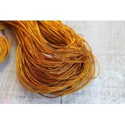 Шнур, цвет золото, 1м