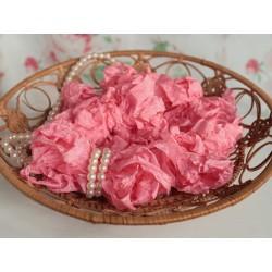 """Шебби-лента цвет """"Теплый розовый"""", 1м"""