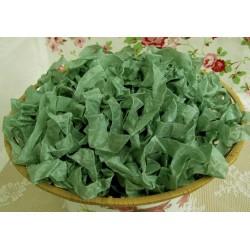 """Шебби-лента """"Зеленый оникс"""", 1м"""