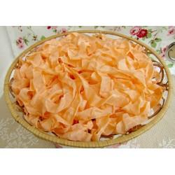 "Шебби-лента ""Оранжевый персик"", 1м"