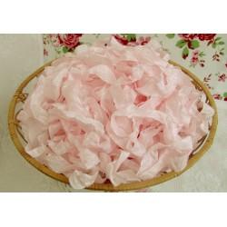 """Шебби-лента, цвет """"Пепельный розовый"""", 1м"""