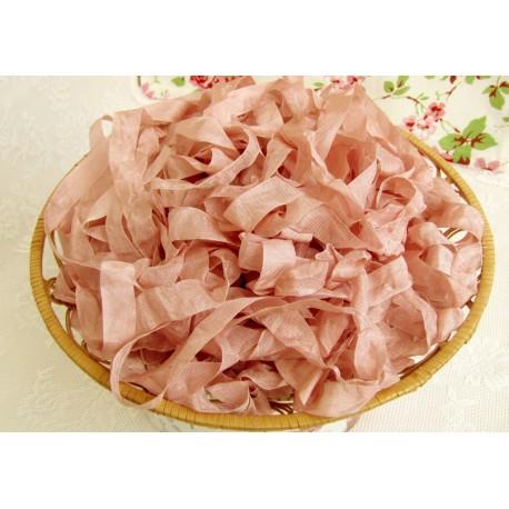 "Шебби-лента, цвет ""Розовые лепестки"", 1м"