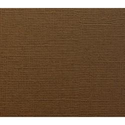 Кардсток текстурированный ГЛУБОКИЙ КОРИЧНЕВЫЙ, 30,5*30,5 см, 1 лист, 216 гр/м