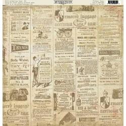Бумага 30*30 Authentique односторонняя Tribune