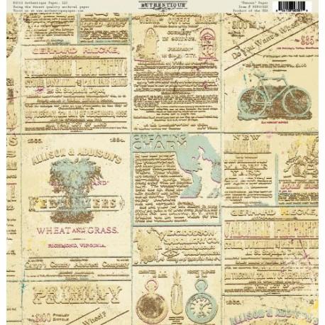 Бумага 30*30 Authentique односторонняя Renown