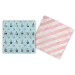 Бумага 30,5*30,5 см Ballerina Cupcakes