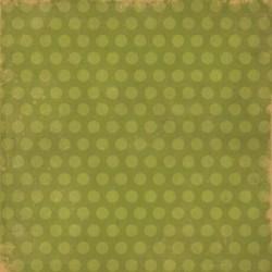 Бумага для скрапбукинга 30*30 см SIMPLE BASICS GREEN/NOTEBOOK