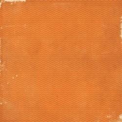 Бумага для скрапбукинга 30*30 см SIMPLE BASICS ORANGE/GRID