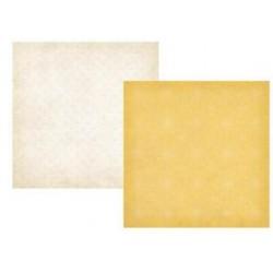 Бумага для скрапбукинга 30*30 см SUMMER FRESH YELLOW LACE/STITCHED LATTICE