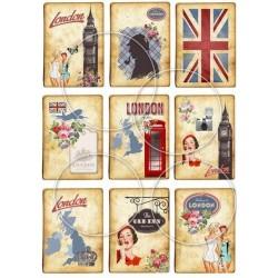 "Карточки ""Лондон"", А4"