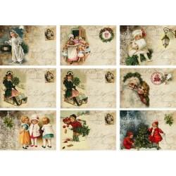 """Карточки """"Новый год-1"""", А4"""