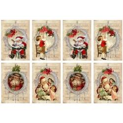 """Карточки """"Новый год-2"""", А4"""