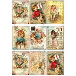 """Карточки """"Новый год-4"""", А4"""