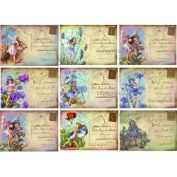 "Карточки ""Феи-2"", А4"
