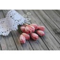 Тюльпан, 10мм, цвет нежно-розовый, 1шт.