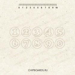 """Чипборд """"Цифры 7"""""""
