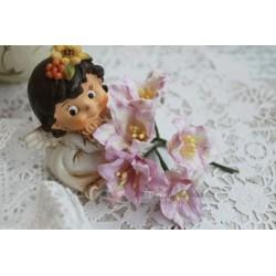 Лилия, цвет нежный лиловый, 5см, 1шт.