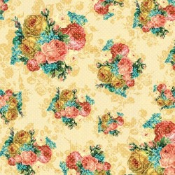 Бумага 30*30 My Mind's Eye Floral