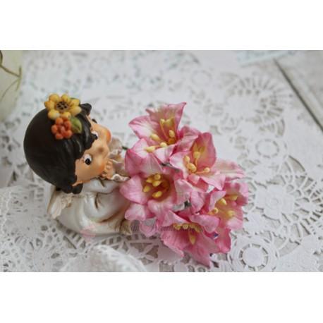 Лилия, цвет нежно-розовый, 5см, 1шт.