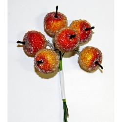 """Декоративный букетик """"Яблоки в сахаре"""", Рукоделие, DKB016"""