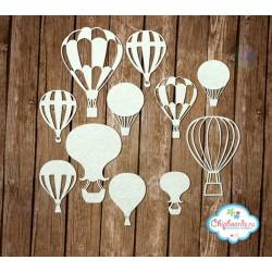 """Чипборд """"Коллекция """"Premium"""". Воздушные шары."""", от 30 до 70 мм"""