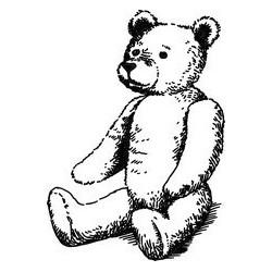"""Штамп прозрачный """"Детки-29"""", 3.6*5см"""