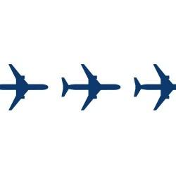 Бумажный скотч с принтом Самолёты 15мм*8м