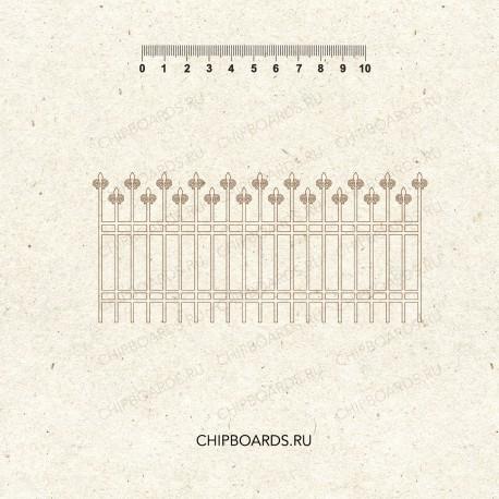 """СКИДКА НЕДЕЛИ!!! Чипборд """"Забор 1"""""""