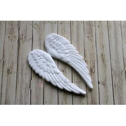 """Пластиковая фигура""""Крылья ангела"""", 65*22мм, 2шт."""