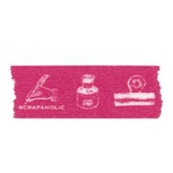 "Скотч декоративный ""Scrapaholic: Pink Typewriter"", 15мм"