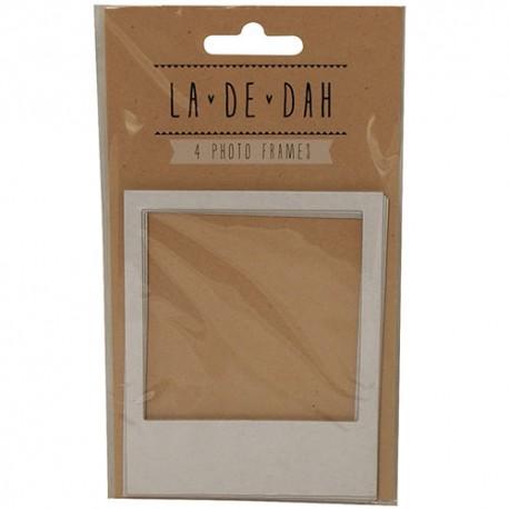 Набор рамок для фотографий 4 шт La De Dah