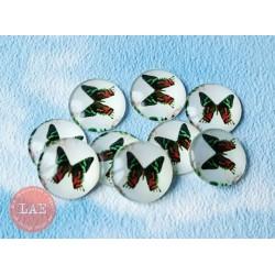 """Пеблс """"Бабочки зеленые"""", 1шт"""