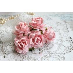 Дикая роза, цвет нежно-розовый, 4см, 1шт