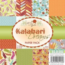 """Набор бумаги 15*15см, 36 листов """"Kalahari Dreams"""""""