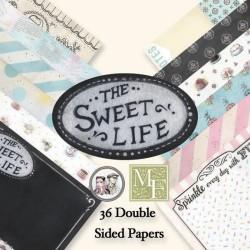 Набор бумаги 15*15 см 36 листов Sweet