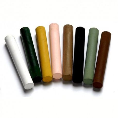 Набор цветных мелков для парчмента Спокойные Цвета 8 шт.